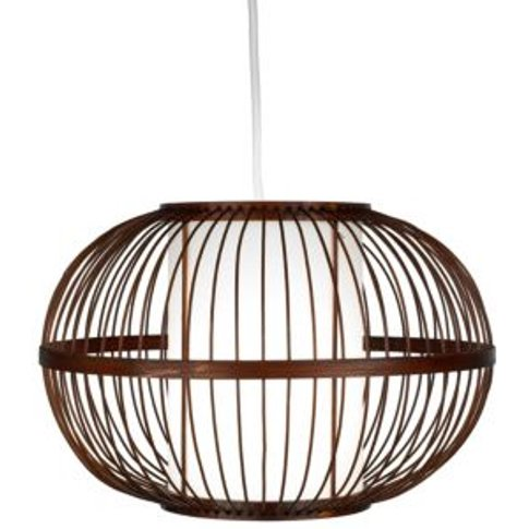 Mandy Brown Bamboo with inner diffuser Light shade (...