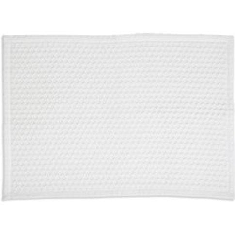Marinette Saint-Tropez Version White Cotton Bath mat...