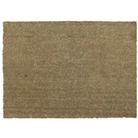 Diall Natural Coir Door mat (L)900mm (W)600mm
