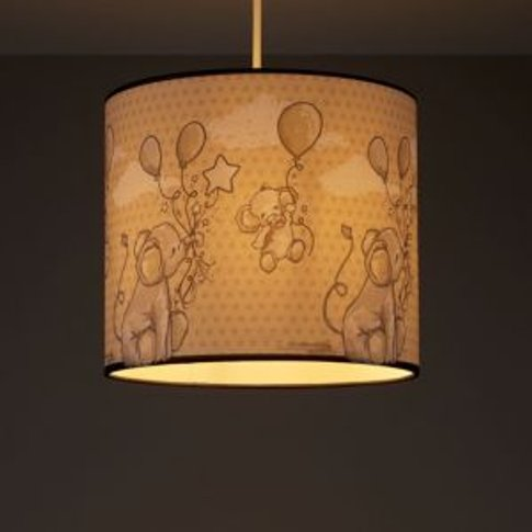 Kids Colours Effalump Blue & cream Light shade (D)250mm