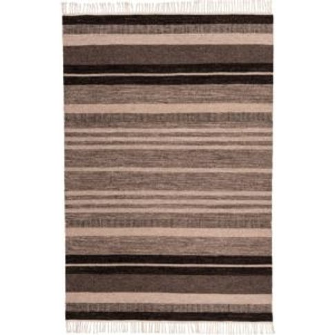 Colours Mila Striped Natural Rug (L)2.3m (W)1.2m