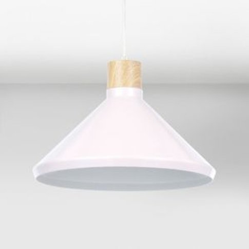 Colours Selma Pink Cone Light Shade (D)350mm