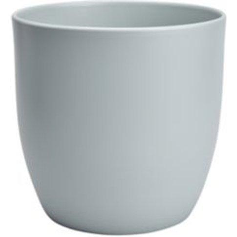 Duck Egg Ceramic Plant Pot (Dia)27cm