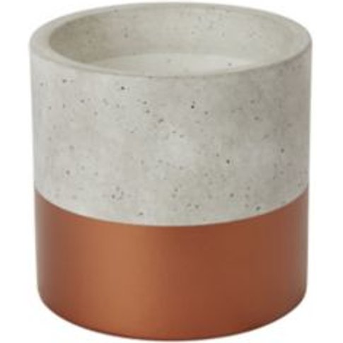 Copper Terracotta Dipped Plant Pot (Dia)14cm
