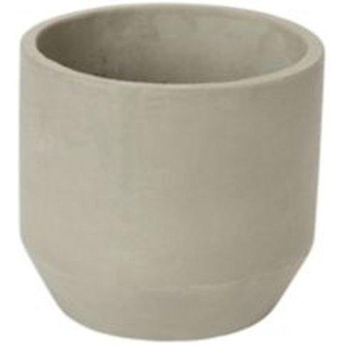 Grey Clay Plant Pot (Dia)22cm