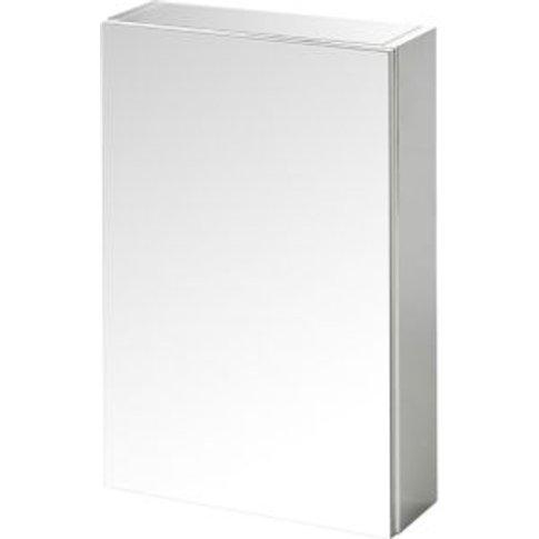 Goodhome Imandra Single Door Mirrored Wall Cabinet  ...