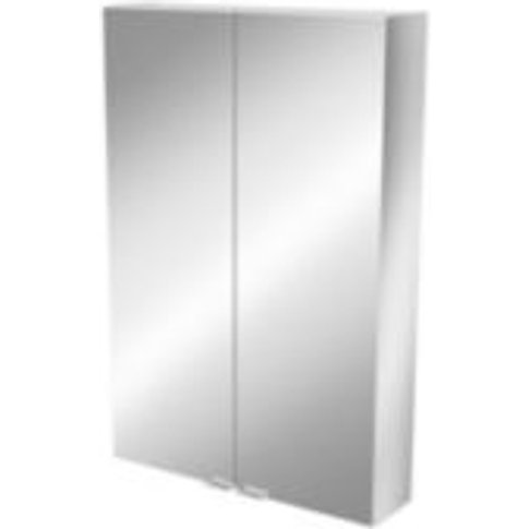 Goodhome Imandra Mirrored Wall Cabinet  (W)600mm  (H...