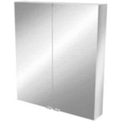 GoodHome Imandra Mirrored Wall cabinet  (W)800mm  (H...