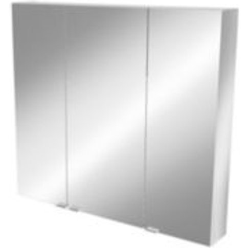 Goodhome Imandra Mirrored Wall Cabinet  (W)1000mm