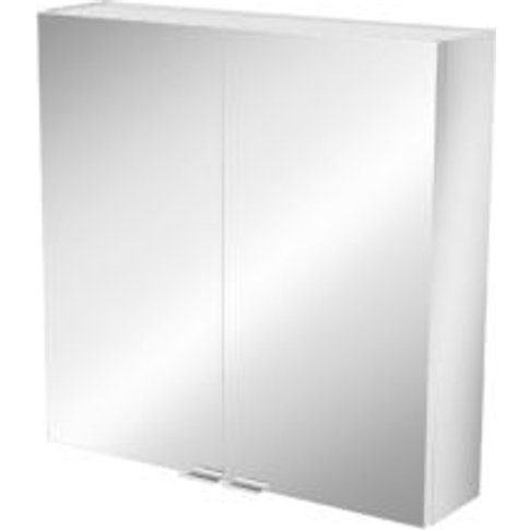 Goodhome Imandra Short Mirrored Wall Cabinet  (W)600...