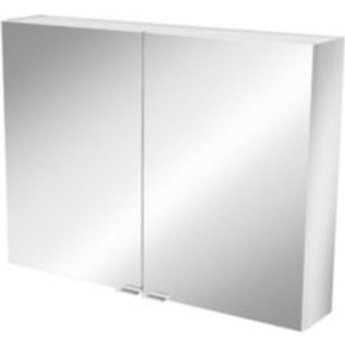 GoodHome Imandra Short Mirrored Wall cabinet  (W)800...