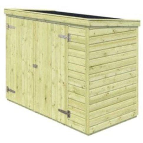 Sepik Wooden Garden storage box