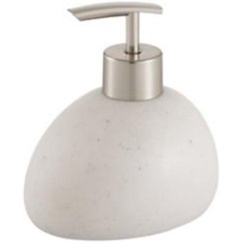 Cooke & Lewis Padma White Matt Soap Dispenser