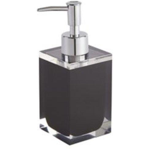 Cooke & Lewis Capraia Black Gloss Soap Dispenser