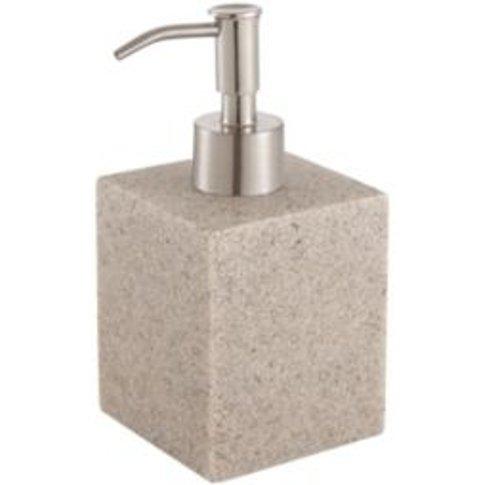Cooke & Lewis Dvina Pebble Sandstone Effect Soap Dis...