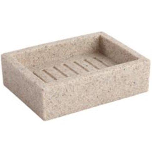 Cooke & Lewis Dvina Pebble Sandstone Effect Soap Dish