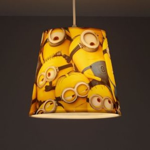 Minions Yellow Printed Light Shade (D)240mm
