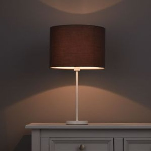 Colours Fairbank Anthracite Plain Light Shade (D)280mm