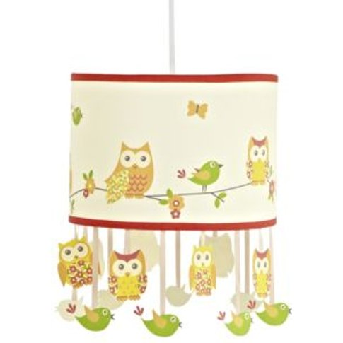 Colours Oratory Owl Design Light Shade (D)98.3cm