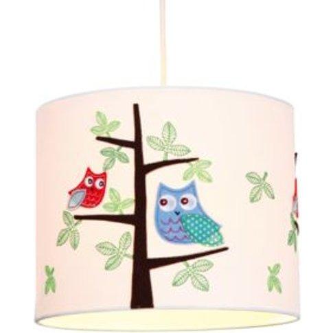 Colours Rosalba White Owl Light Shade (D)25cm
