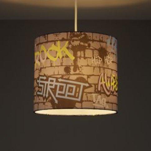 Colours Graffiti Multicolour Graffiti Light Shade (D...