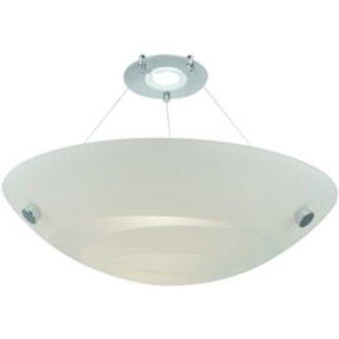 Colours Alta White Swirl Uplighter Light Shade (D)300mm