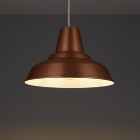 Colours Tezz Copper Effect Light Shade (D)290mm