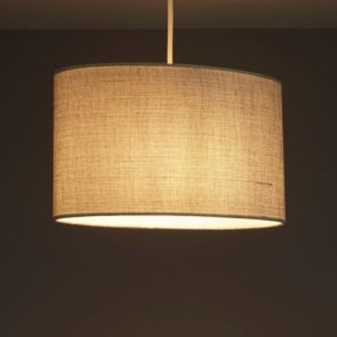 Colours Sadler Grey Metallic Effect Light Shade (D)300mm