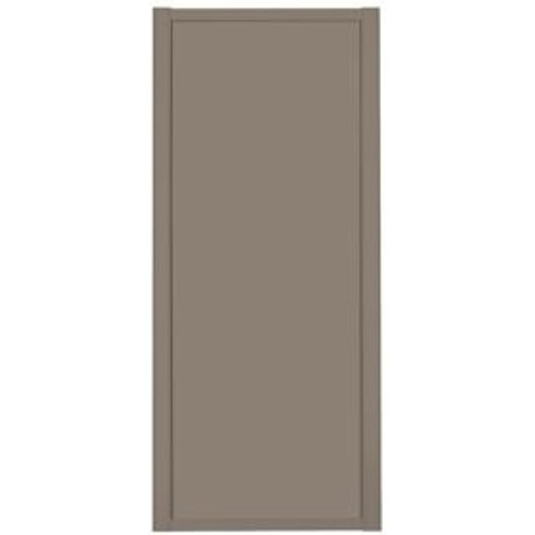 Shaker Stone Grey Sliding Wardrobe Door (W)610mm