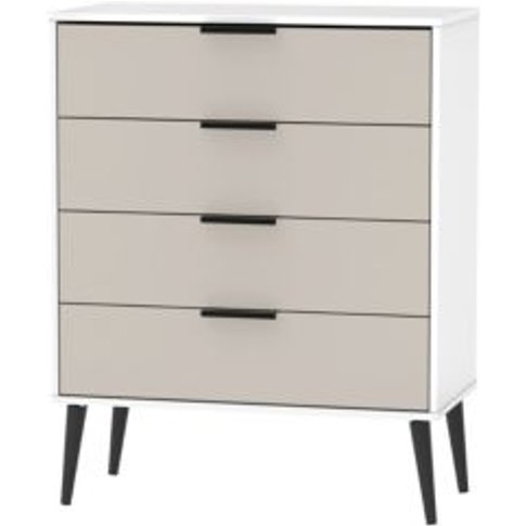 Welcome Furniture Kyoto Kaschmir Matt 4 Drawer Chest...