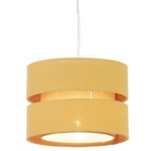 Colours Duo Mustard Yellow Classic Light Shade (D)220mm