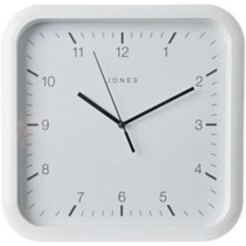 Jones Abacus White Alarm Clock