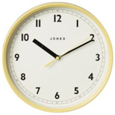 Jones Dime Yellow Wall Clock