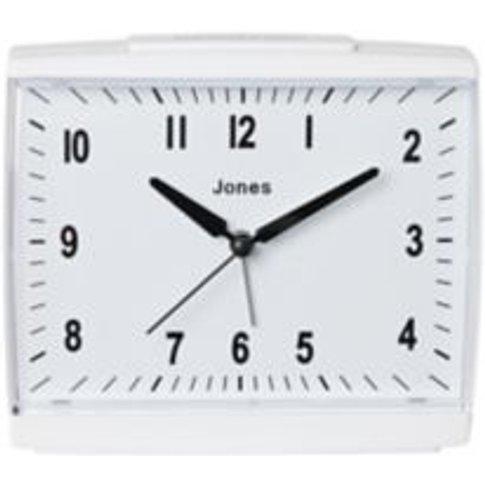 Jones Dreamland White Alarm Clock