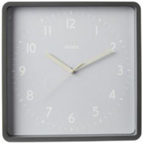 Jones Shack Grey Wall Clock