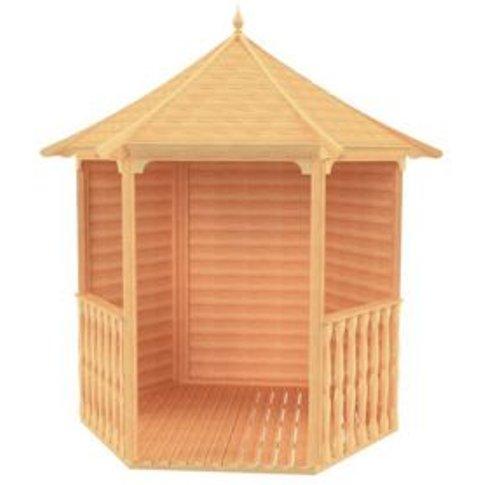 7'1 x 6'1 Shire Shiplap Wooden Arbour