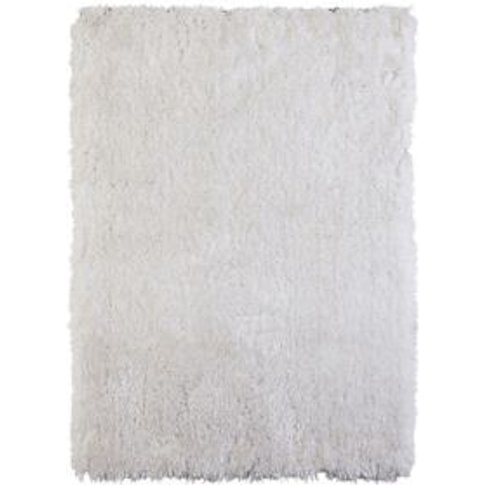 Colours Benita White Rug (L)2.3m (W)1.6m