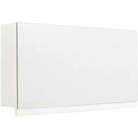 Cooke & Lewis Ardesio Gloss White Lift Up Door Mirro...
