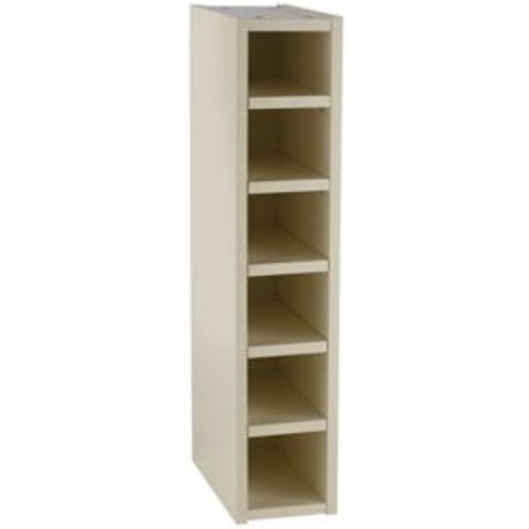 Cooke & Lewis Cream Wine rack Tall wall cabinet (W)1...