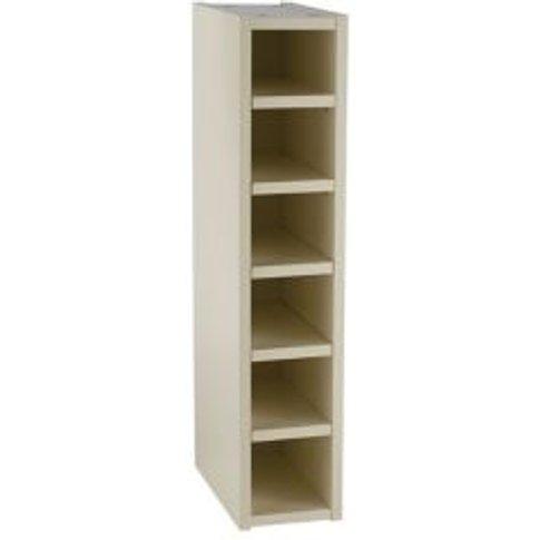 Cooke & Lewis Cream Wine rack cabinet  (H)720mm (W)1...
