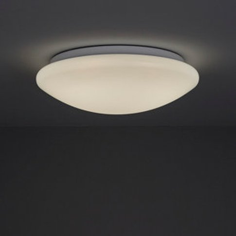 Dea Brushed White Ceiling Light