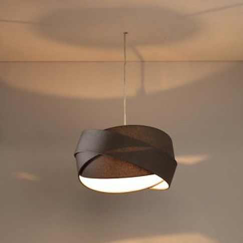 Lovell Charcoal Triple Ring Light Shade (D)330mm