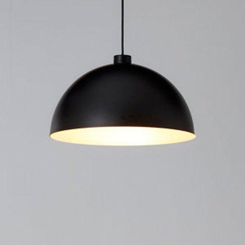 Goodhome Songor Black Light Shade (D)380mm