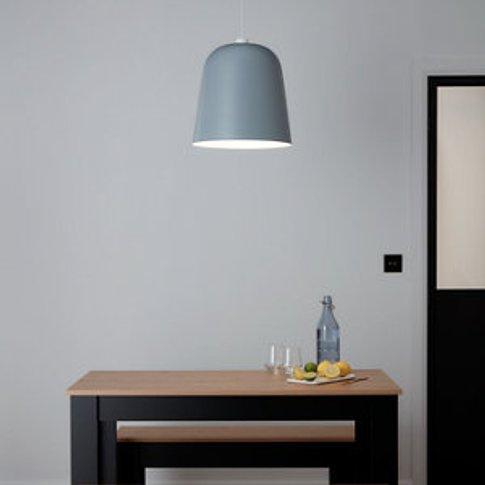 Goodhome Calume Light Grey Light Shade (D)380mm
