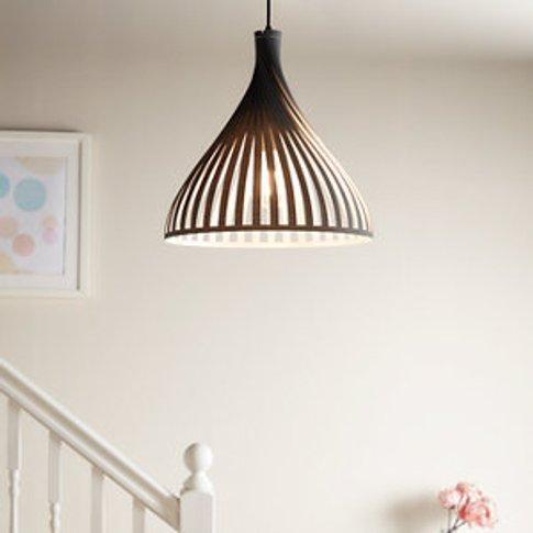 Crozon Dark Grey Pendant Ceiling Light