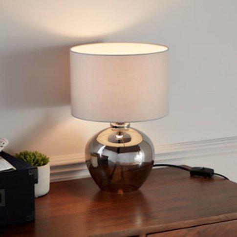 Goodhome Marietaz Light Grey Table Light