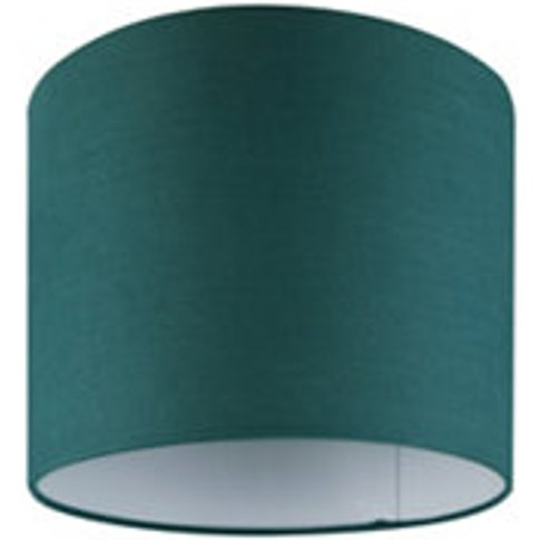 Goodhome Kpezin Green Fabric Dyed Light Shade (D)200mm