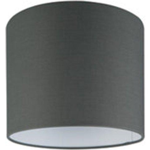 Goodhome Kpezin Dark Grey Fabric Dyed Light Shade (D...