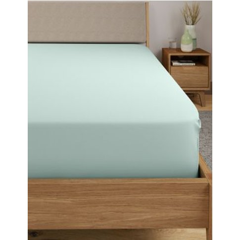 M&S Egyptian Cotton 400 Thread Count Percale Extra D...