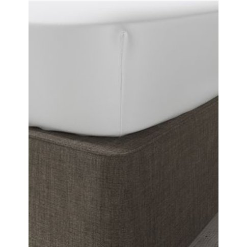 M&S Dreamskin&Reg; Pure Cotton Deep Fitted Sheet - 6...